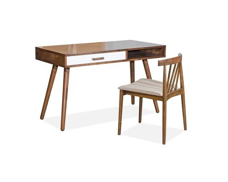 CHILE Writing Table + FLORENCE Chair (CHILE Study Set) (1)