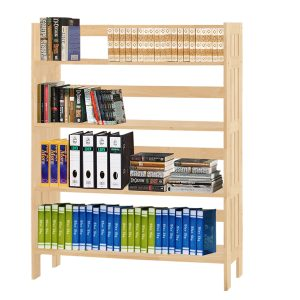 Polo 4 tiers bookcase (4)