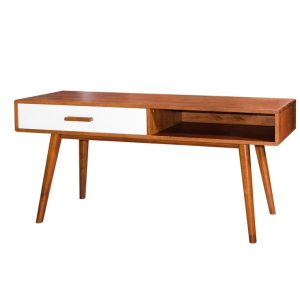 Console Table - oak_white