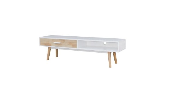 Hollywood 6FT TV Cabinet_white (1)