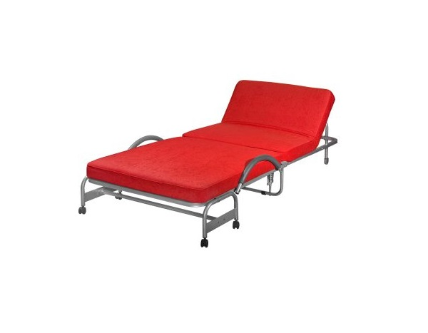 Deluxe Extra Folding Single Bed_Aloba Red (1)