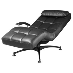 Hawaii Relax Chair_Half Leather Black