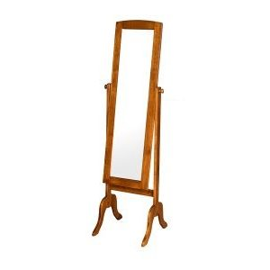 Alaska Swivel Mirror Stand_Oak (1)
