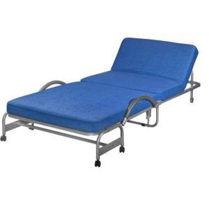 Deluxe Extra Folding Single Bed_Aloba Big Blue (1)