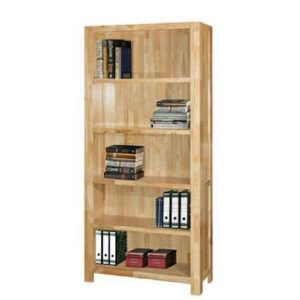 Heritage 3FT Book Case_Natural (1)