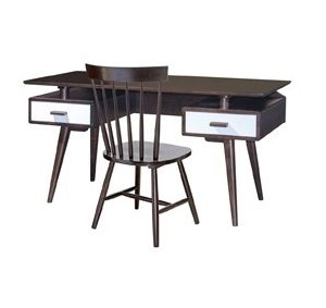 Hollywood Office Table_Cappuccino (1)