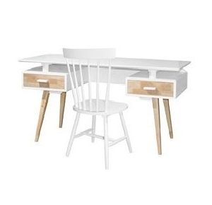 Hollywood Office Table_White