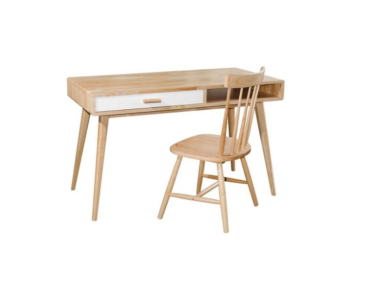 Hollywood Writing Table & Twiggy Chair_Natural (1)