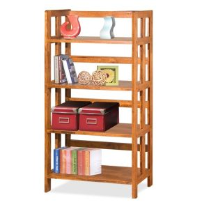 Mates 4 Tier Book Case_Oak (1)