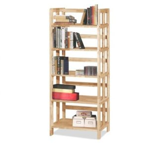 Mates 5 Tier Book Case_Natural (1)