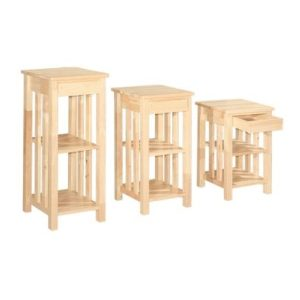 Polo ABC Multi Puspose Rack With Drawer_Natural (1)