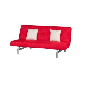 Victoria Three-Seat Sofa-Bed_Aloba Red (1)