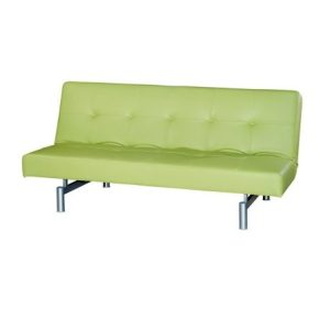 Victoria Three-Seat Sofa-Bed_PU Green (1)