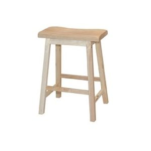 California Bar Stool H24_Natural