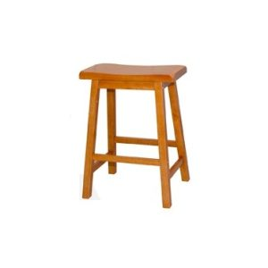California Bar Stool H24_Oak