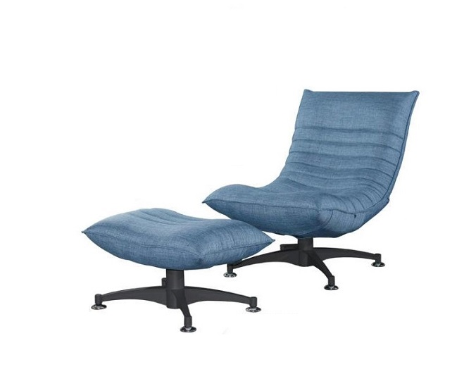 IRIS Recliner Relax Chair With Pouf Fabric FG 6011 17  : IRIS 1 Seater 1P FabricFG 6011 17 Light Blue from kianpg.com size 676 x 548 jpeg 56kB