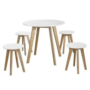 LILY RD800 Dining Set (1+4)_