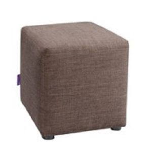 Mary Square Stool_Brown