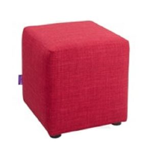 Mary Square Stool_Red