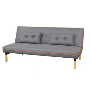 OSLO 3 seat sofa bed_dark grey