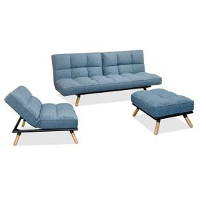 Panama Sofa Bed Set_Blue