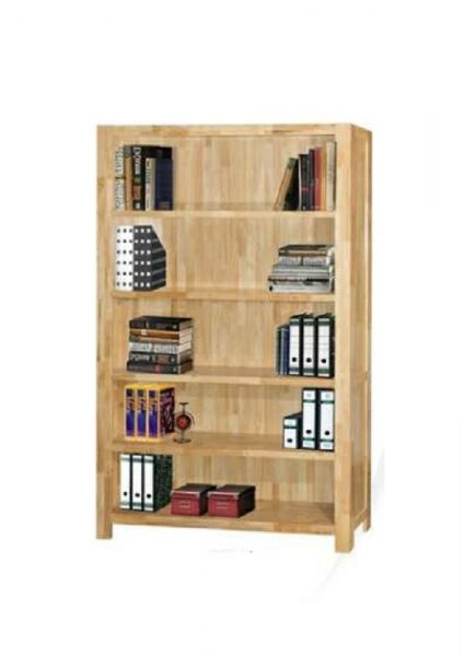 Heritage 4FT Book Case_Natural (1)