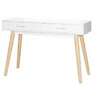 Chile Console Table_White_Natural