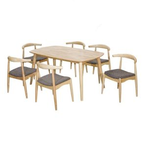 MIAMI Dining Set (1+6)_