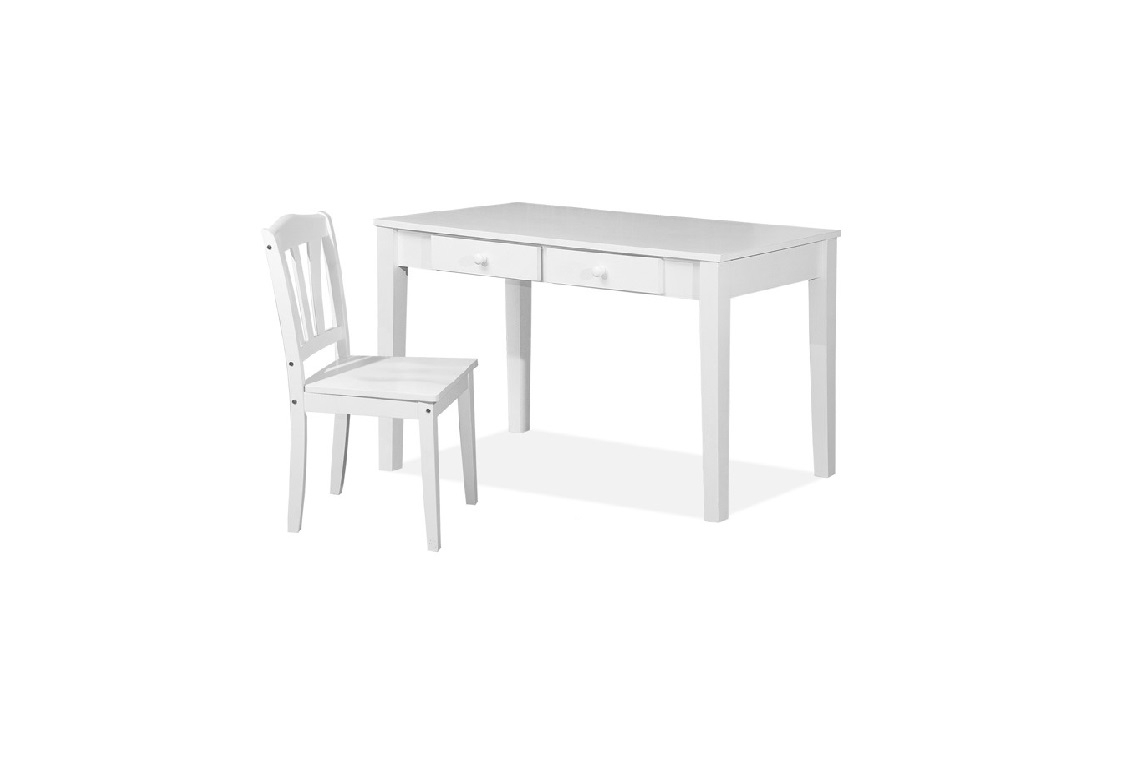 Rose Writing Table 4ft 2 X 4 Shaker Chair Wooden